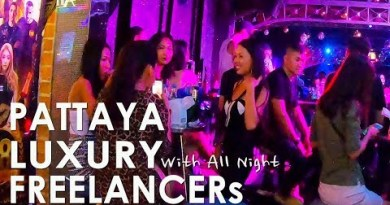 Watching Luxury Freelancer All Around Pattaya Walking Avenue at Night Normal Movies 37
