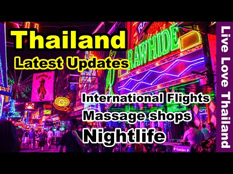 Thailand Worldwide flights are encourage | Nightlife with contemporary principles #livelovethailand