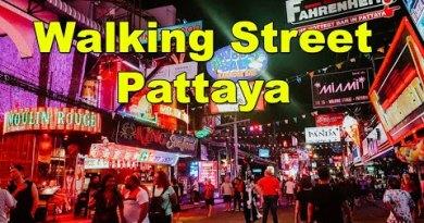 Walking Road Pattaya, Thailand – Nightlife Pattaya – Shoreline road, Coronavirus (COVID-19) impact