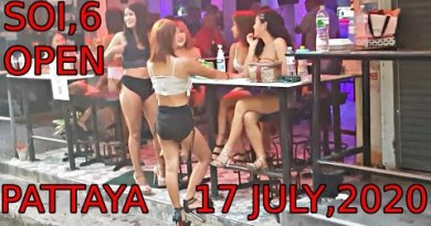 Soi 6 Pattaya, Last Night time, Friday, 17,7,2020, Commence Bars, Sparkling Girls, Come Encourage Farang, Cash in on,