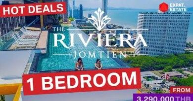 1 mattress room residence on the market @ The Riviera Jomtien Seaside Condominium, Pattaya, Thailand. Foreign quota