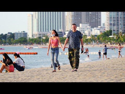 Quiet Pattaya Scenes on Sunday July Nineteenth 2020