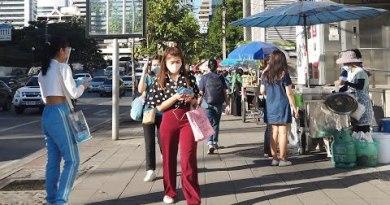 [4K] Bangkok Thailand Inch | Digital Walking Tour around Downtown
