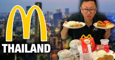 EATING ONLY McDonalds in Thailand
