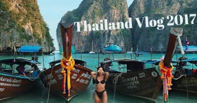Thailand Vlog 2017   Bangkok – Phuket – Maya Bay – James Bond Island