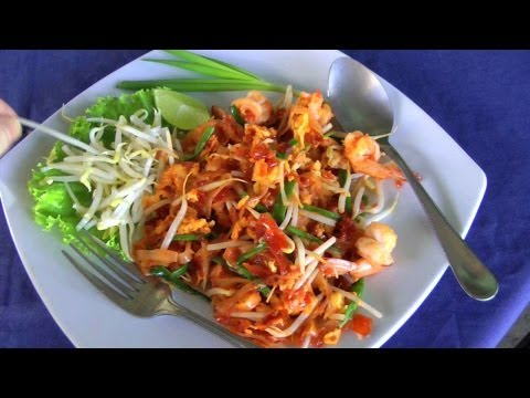 Pad Thai – Cooked at a Local Restaurant in Pattaya, Thailand