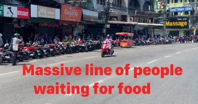 Pattaya at Breaking Level – Hundreds of of us lining up for meals | But there might be hope