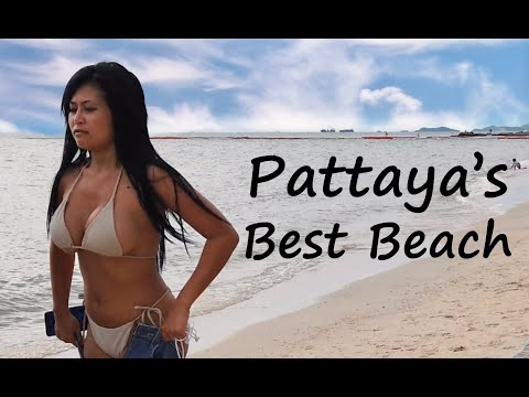 The most effective seaside in Pattaya, Thailand – Wongamat seaside in Pattaya after lockdown