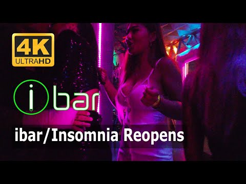 i bar/insomnia Reopens After 3 Months Shutdown | Pattaya Walking Highway Thailand