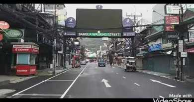 Bangla Strolling avenue and seaside. Phuket, patong.