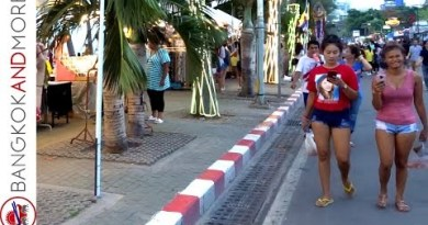 PATTAYA BEACH ROAD – Street Food And Browsing 2019 – Section 1