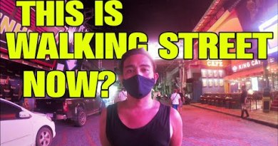 PATTAYA WALKING STREET AFTER LOCKDOWN 2020