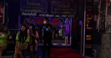Pattaya's infamous Walking Avenue 1AM 11/August