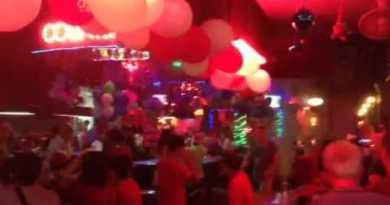 Hottuna bar Pattaya strolling avenue New 365 days's Eve 2013-2014
