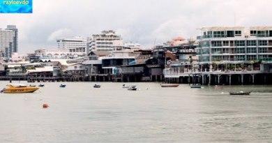 Pattaya Thailand Waterfront Location the Bottom of Walking Aspect freeway