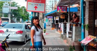 Pattaya Update. Soi Buakhao Day & Night scenes (That is what it appears adore)