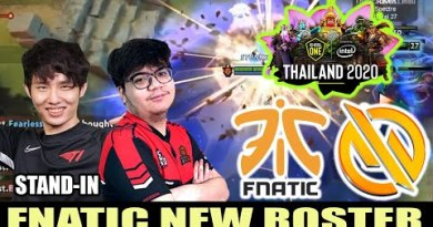 FNATIC VS MG TRUST – FNATIC NEW ROSTER !!! – ESL One Thailand 2020 Asia