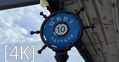 Pattaya 4K Stroll  Aug.2020 BeachRoad Soi10,Soi11 Morning Scene.