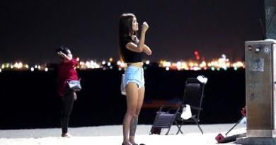 Pattaya Seaside Scenes on Monday August 2020