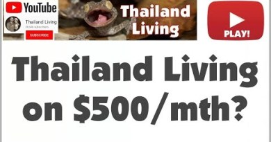 Can You Are living on $500 / Month in Bangkok 🇹🇭 Thailand? Pattaya? Payment of Residing 2017