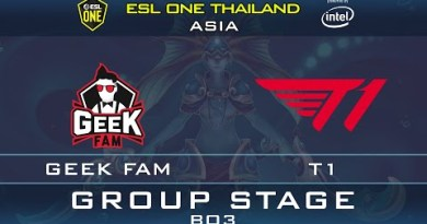 T1 vs GEEK FAM – EG.ABED vs MERACLE – ESL One Thailand 2020: Asia – DotA 2