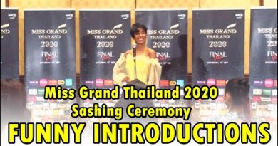 Miss Huge Thailand 2020 | Amusing Introductions (Sashing Ceremony)