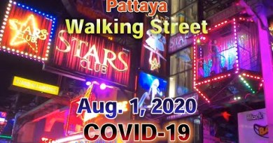 [Pattaya]Walking Avenue at Middle of the evening on Aug. 1(Sat), 2020 below COVID-19 pandemic