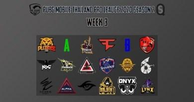 PMPL 2020 S2 Thailand – Neatly-liked Season  Week 4 A x B