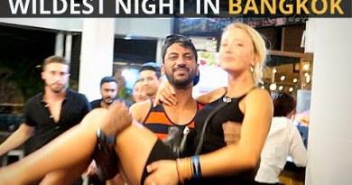 Wildest BANGKOK Occasion in Rs.700 | THAILAND Nightlife | Craziest Occasion Hostel Fling vlog