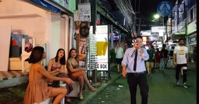 pattaya walking avenue after uninteresting night