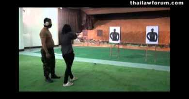 Weapons in Thailand | Bangkok Shooting Fluctuate