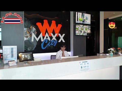 Pattaya Vlog LK, Soi pothole,14.9.2020 Maxxcity Luxury Condos Analysis Panoramic Peep, Sauna Gymnasium, Pool