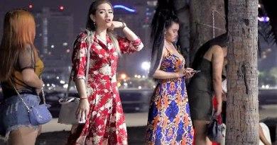 Pattaya Scenes. Round Shoreline Avenue – Section 12