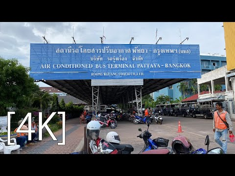 Pattaya 4K Lumber 2020 Sep NorthPattayaBusTerminal. NorthPattayaRoad.