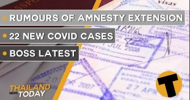 Thailand News This day | Rumours of amnesty extension, 22 contemporary Covid cases | September 28