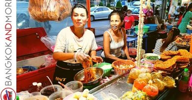 THAI STREET FOOD STALLS | Bang Bon District Bangkok THAILAND