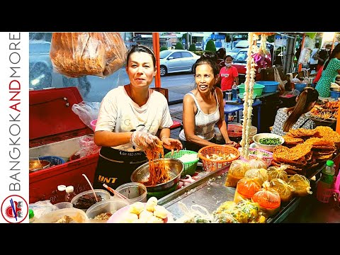 THAI STREET FOOD STALLS   Bang Bon District Bangkok THAILAND