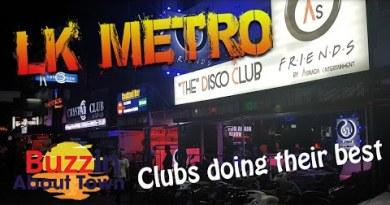 LK Metro Pattaya, slack evening peek round at 11.30pm (September 2020)
