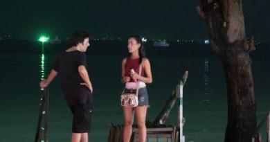 Pattaya Seaside Twin carriageway at night time – Freelancer, spirited girls