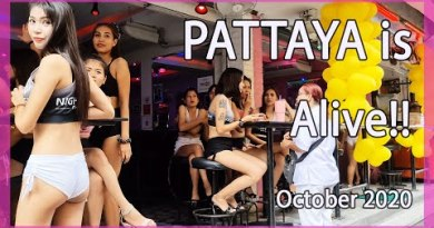 Pattaya Day out 2nd Day October 2020   Nightlife Reopening after Buddhist day conclude