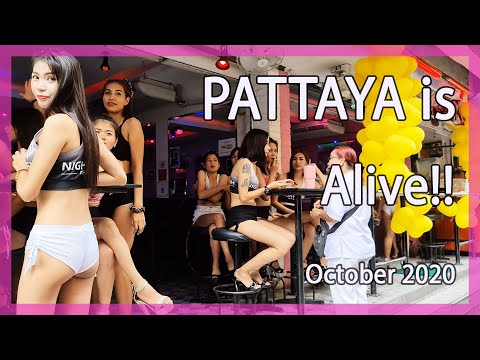Pattaya Day out 2nd Day October 2020 | Nightlife Reopening after Buddhist day conclude
