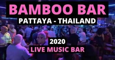 BAMBOO BAR Pattaya 2020 in Thailand