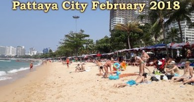 Vacation in Pattaya (Thailand) in February 2018 – seashore in Pattaya, sea and meals