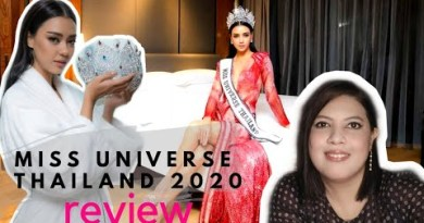 MISS UNIVERSE THAILAND 2020 🇹🇭   REVIEW