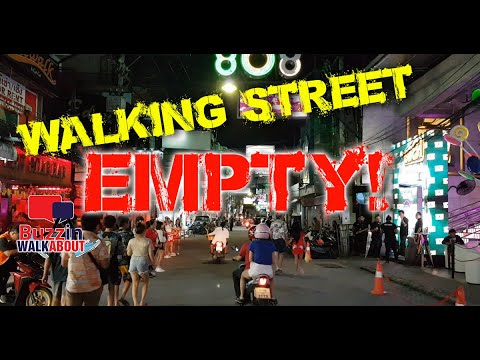 Walking Aspect highway tour – Pattaya October 2020 – This significant Aspect highway is on its knees!