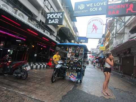 Pattaya Soi 6 Stroll – 17.October 2020 4 PM Thailand Pleased Lady advert the Discontinue of the Video Vlog 116 (4K)