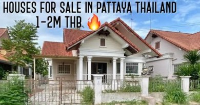 Homes for Sale in Pattaya Thailand 1M to 2M THB