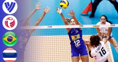Brazil vs. Thailand – Pudgy Match   Females's Volleyball World Broad Prix 2017