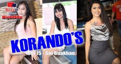 Bars in Pattaya – Korando's Bar – Soi Buakhao, Pattaya, a big plan to hold around and procure stress-free!