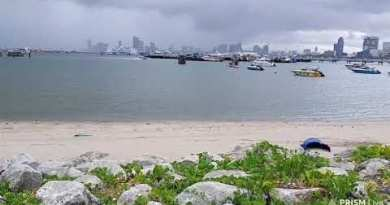 1 September 2020 Morning Pattaya Seaside This present day Rain Coming